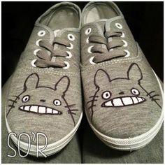 chaussures totoro à faire !