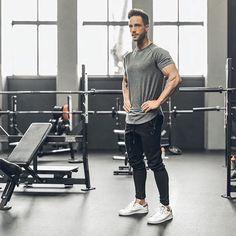 Look masculino para treinar com estilo. Confira outras inspirações!