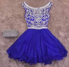 Homecoming DressHomecoming DressesBeading Homecoming GownsShort Prom GownSweet 16