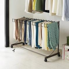 Fantastic Photographs Storage idea storage idea Suggestions You realize old-fashioned outfits hangers, which you will really have to hang in your closet. Wardrobe Cabinets, Wardrobe Rack, Ikea Must Haves, Pant Hangers, Small Closet Organization, Ideas Para Organizar, Smart Storage, Bedroom Storage, Storage Cabinets