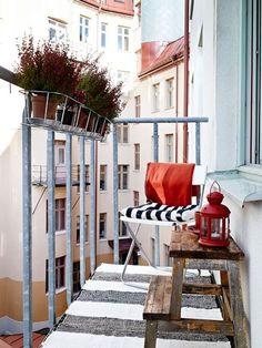 ⇢ #Balcones MINI ⇠ Cómo decorarlos y sacarles el máximo partido #decoración #exteriores