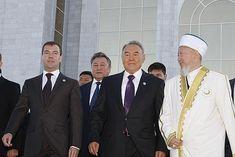 Dmitry Medvedev in Kazakhstan 22 September - Nursultan Nazarbayev - Wikipedia Kazakhstan, Cuba, Israel, September, Kobe