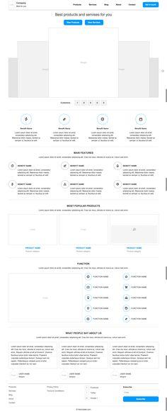 Axure company website