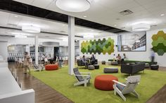 Breakout space / lounge from Mattress Firm Offices – Houston