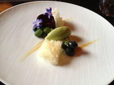 Blueberry mousse, basil, kalamansi | Yelp