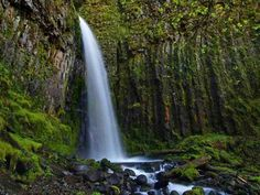 Dry Creek Falls Hike Hike Type: Out and Back Distance: 4.4 miles Elevation gain: 710 feet Difficulty: Easy Seasons: Year-round Family Friendly: Yes Backpackable: No Crowded: No. 39 minutes driving one- way. Near Cascade Locks,  OR.