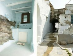 House in Tinos, the Cyclades (GR). (houseofturqoise.com / Marilyn Katsaris + Zege Architects)