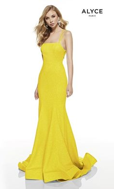 Alyce Paris - 60692 Cutout Strappy Back Glitter Jersey Mermaid Gown Strapless Prom Dresses, Prom Dresses Online, Mermaid Prom Dresses, Bridesmaid Dresses, Chiffon Dresses, Fall Dresses, Long Dresses, Formal Dresses, Sweet 16 Dresses