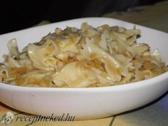 Káposztás tészta Naan, Macaroni And Cheese, Cabbage, Grains, Rice, Vegetables, Ethnic Recipes, Food, Mac And Cheese