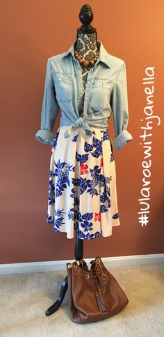 LuLaRoe Madison skirt with pockets #lularoewithjanella #lularoemadison