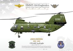 "MARINE MEDIUM HELICOPTER TRAINING SQUADRON 164HMMT-164 ""Knightriders"", Marine Corps Base Camp Pendleton Phrog Parewell. 1964 - 2015"