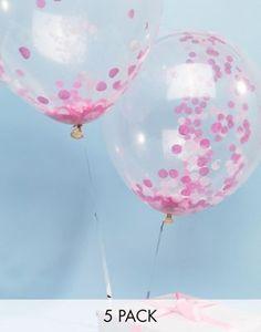 """5pck 11/"""" Latex Love Doves Elegant Wedding Clear Balloons"""