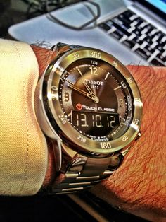 #womw #tissot #timepiece #watches Tissot T-Touch... | Dan Gordon