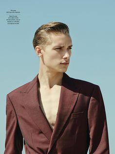 Niclas Gillis Heads to Venice Beach for GQ Style Korea image Niclas Gillis Model 006