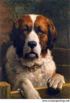 Eerelman Otto - 'A St. Bernard Dog'