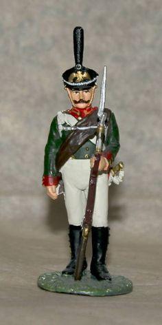 Napoleonic Wars tin 54 mm Ranker Lifeguards Preobrazhensky Regiment,1812