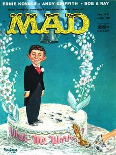 Cover for MAD (EC 1952 serie) #40 - July 1958