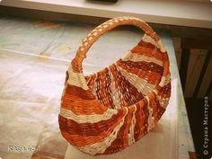 Поделка изделие Плетение Желание заказчика-закон Трубочки бумажные фото 1