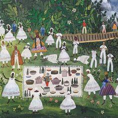 Via @adrianopedrosa Amalá na floresta, det., 1971 #rosinabeckerdovalle #art #arte #brasil #brazil