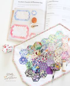 Happy Hexies - a Beautiful New Book from Zakka Workshop (plus a Giveaway) - Molly and Mama