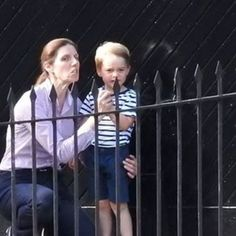 A busy day in royal news. Sweet photos of Prince George seeing his parents off have surfaced in Woman's Day. The little prince accompanied ...