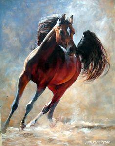 Judi Kent Pyrah equine art