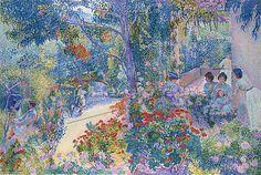 henri-edmond cross le jardin - Google Search Manet, Saint Tropez, Matisse, Städel Museum, Paul Signac, Georges Seurat, Grisaille, Post Impressionism, Impressionist Paintings