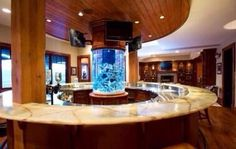 Awesome home bar for a man cave
