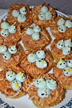 Baby Shower 2012  #projectnursery #franklinandben #nursery Baby Shower Brunch, Baby Shower Cupcakes, Baby Shower Themes, Shower Ideas, Bird Nursery, Cupcake Cakes, Baby Cakes, Bird Party, Bird Theme