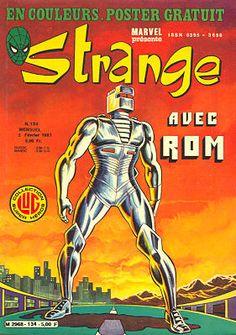 Couverture de Strange -134 - Strange 134