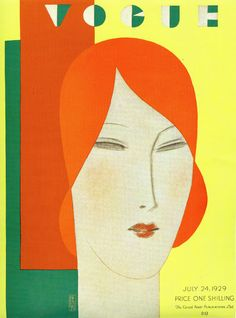 Vogue cover - July 24-1929