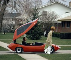 Exide Sundancer electric car - November, 1972-100 mile range at 30 MPH and top speed if 62 MPH from an 8hp motor...not bad for 1972!