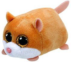 60f84f282e1 Ty Beanie Babies 42217 Teeny Tys Peewee the Hamster