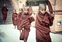 Photograph Walking monks by Andrey Polukarov on 500px