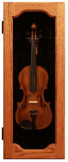 A nice way to display Dad's old violin