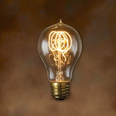 3pack Edison Bulbs Vintage Spiral Filament T14 by VintageWire
