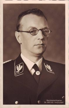 The Banality of Evil: Arthur Seyss-Inquart was a Nazi lawyer who held high offices in Austria and occupied Poland and was eventually made Reichskommissar of the Netherlands. After the war he was tried at Nuremberg alongside other Nazi leaders, was found guilty, and hanged on October 16, 1946.