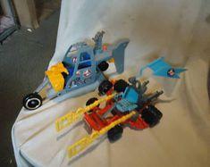 Ghostbusters Ecto 3 et hélicoptère pour les pièces vintage, à collectionner
