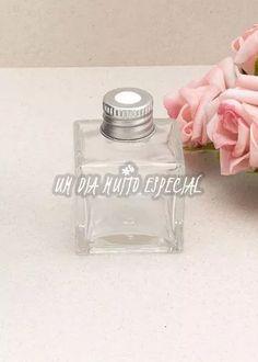 10 unds pote cubo aromatizador tampa prateada 30ml vidro