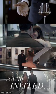 You're invited... to an evening with Fifty Shades of Grey. Get tickets beginning 1/11/15 at fandango.com/fiftyshades | Fifty Shades of Grey | In Theaters Valentine's Day 2015
