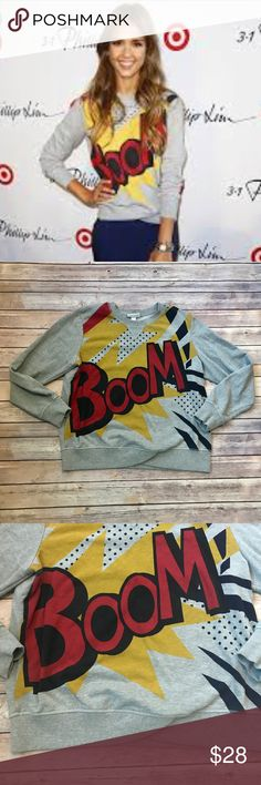 "3.1 Phillip Lim for Target Boom Sweatshirt 3.1 Phillip Lim for Target Boom Sweatshirt.                           ▪️Women's Size XL▪️Excellent Used Condition ▪️Armpit to Armpit 24""  ▪️Top to Bottom 24"" 3.1 Phillip Lim for Target Tops Sweatshirts & Hoodies"