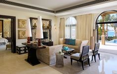 Villa Living. One&Only The Palm, Dubai. © One&Only Resorts