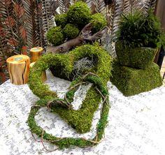 Moss Themed Wedding