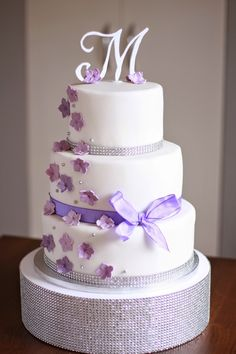Feines Handwerk: Flieder lila Hochzeitstorte Vintage Pram, Cake Blog, Party Cakes, Wedding Cakes, Dream Wedding, Desserts, Food, Weddings, Nails