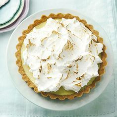 Recept - Lime meringue pie - Allerhande