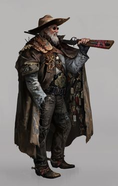 Post-Apocalyptic Sheriff - Gate Keeper by Yelim Kim Post Apocalypse, Apocalypse World, Post Apocalyptic Costume, Post Apocalyptic Art, Post Apocalyptic Fashion, Character Concept, Character Art, Concept Art, Steampunk Characters
