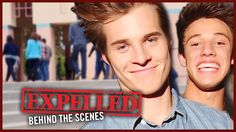CameronDallas & EXPELLED Movie Cast: HIDDEN TALENTS | Behind the Scenes