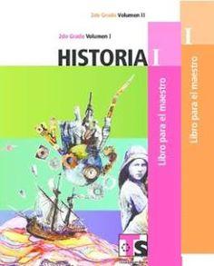 Historia I Volumen 1 y Volumen 2 Segundo grado Libro para el Maestro Telesecundaria Ciclo Escolar 2015-2016