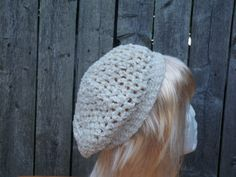 White Chenille hat with gold sparkles winter hat by CrochetByMel, $23.99