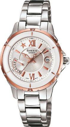 Zegarek damski Casio SHE-4505SG-7A - sklep internetowy www.zegarek.net